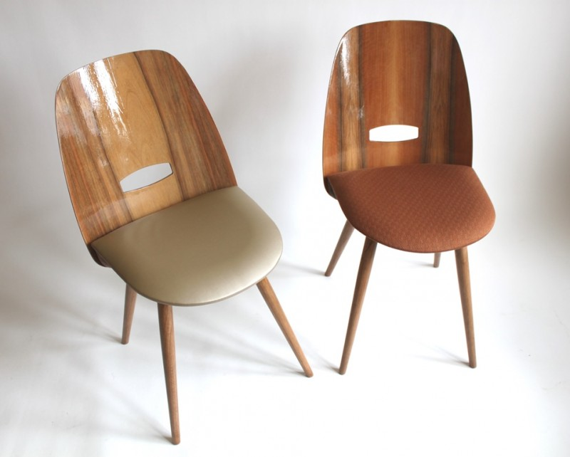 4 masterpieces - chairs, 60´s